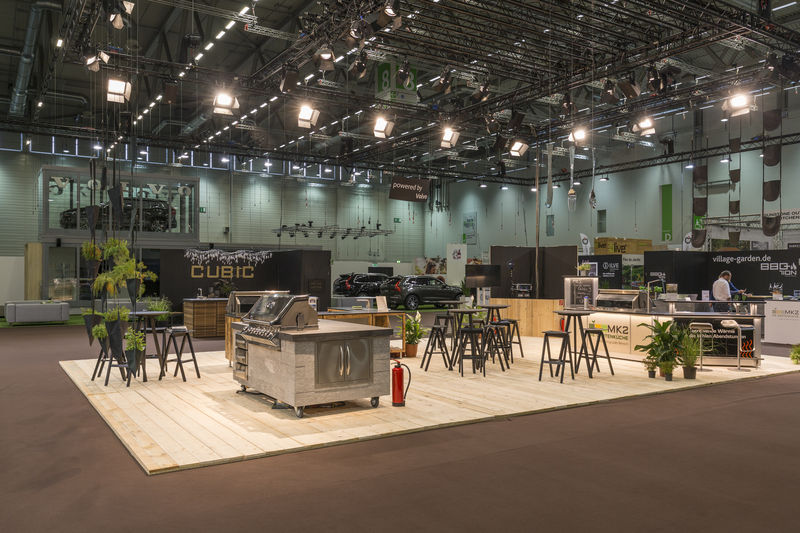 Stand: D-021, Outdoor Kitchen World, Halle 8