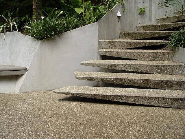 Slab Stairs